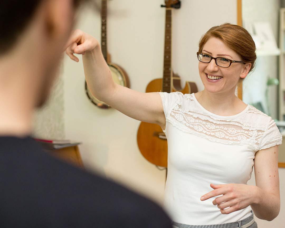 Gesangsunterricht in Wopswede mit Melanie